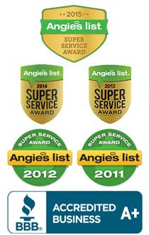 Angie's List Awards. Radiant barrier insulation contractors. Collin County, Dallas County, Denton County, Rockwall County, Tarrant County. Arlington Fort Worth Dallas Plano Allen
