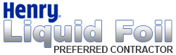 We Are Henry Liquid Foil Radiant Barrier Preferred Contractors in Arlington Fort Worth